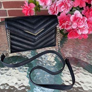 Charming Charlie Black Crossbody Bag